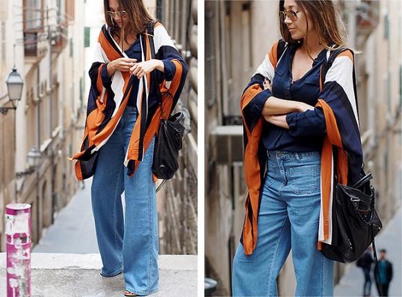 Jeans oversized. (Foto: Reprodução/Lookbook.nu)