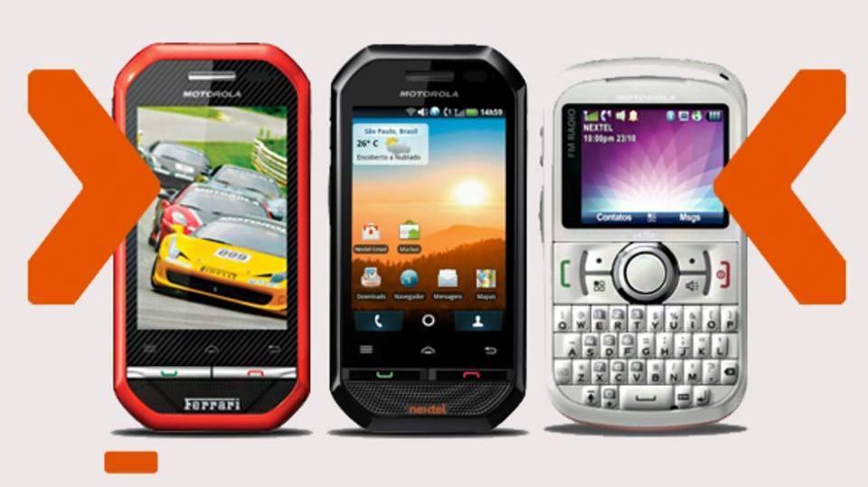 Confira os tipos de aparelhos da Nextel (Foto: Exame/Abril)