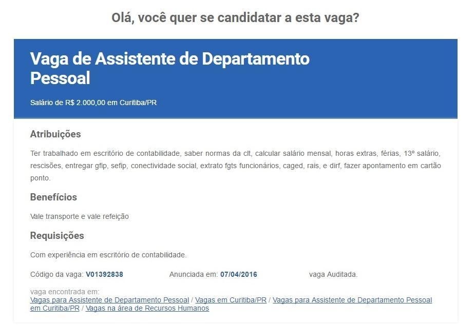 Acesse www.bne.com.br e confira as vagas de trabalho (Foto: Reprodução/BNE)