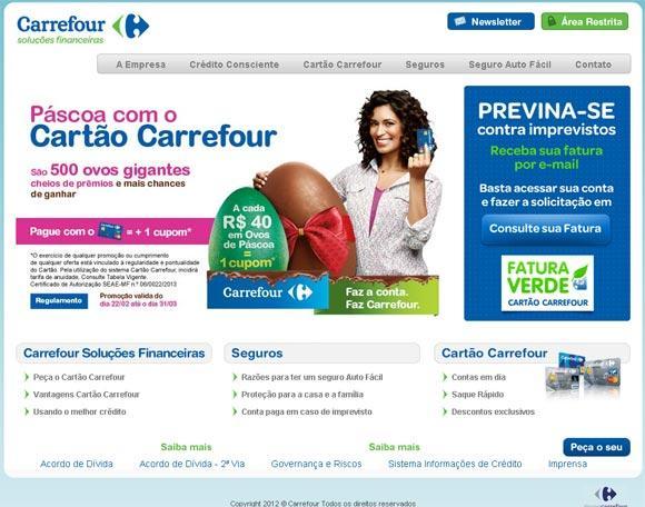 Compre nas lojas online do Carrefour (Foto: Divulgação)