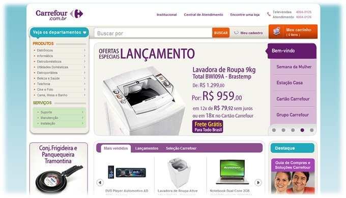 Lojas online Carrefour