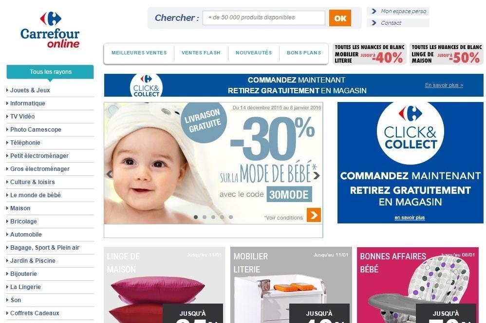 Existem lojas online do Carrefour em todo o mundo (Foto: Divulgação)