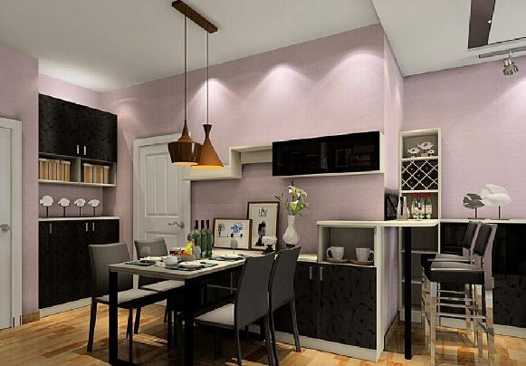 Deixe a decoração moderna com cinza e malva. (Foto Ilustrativa)