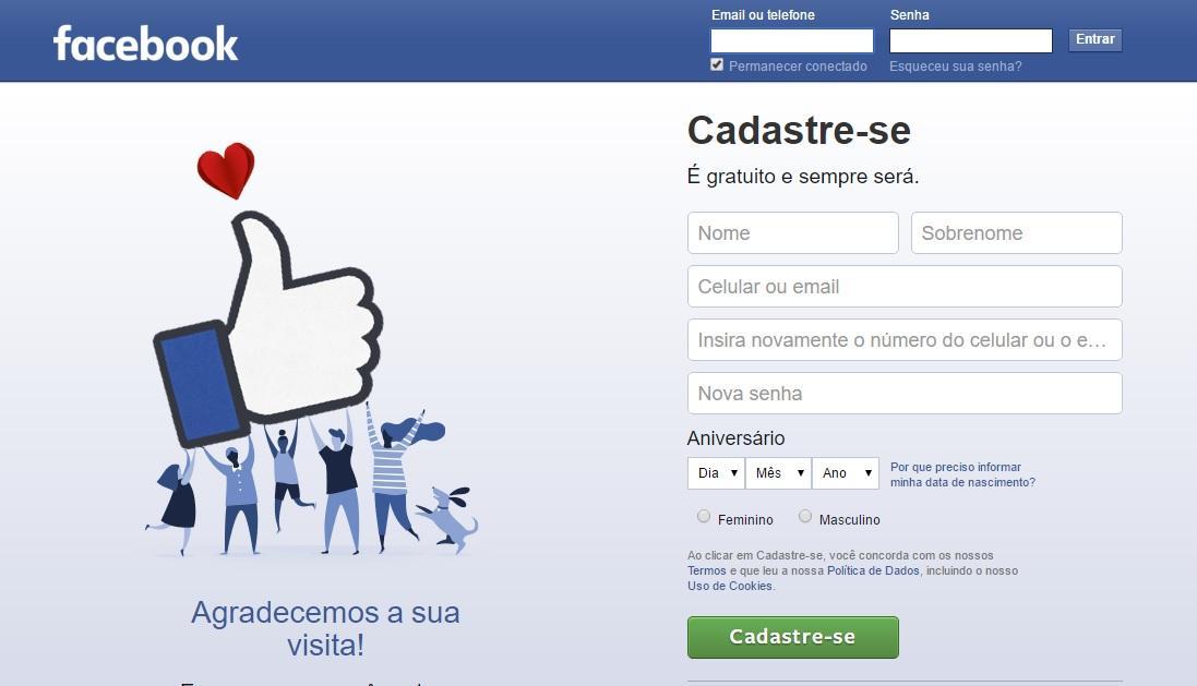 Como recuperar uma conta do Facebook (Foto: Reprodução/Facebook)