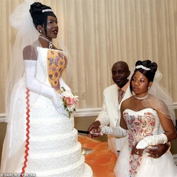 Bolo de noiva. (Foto: Reprodução)