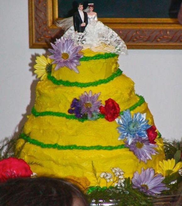 Bolo montanha amarela. (Foto: Reprodução)