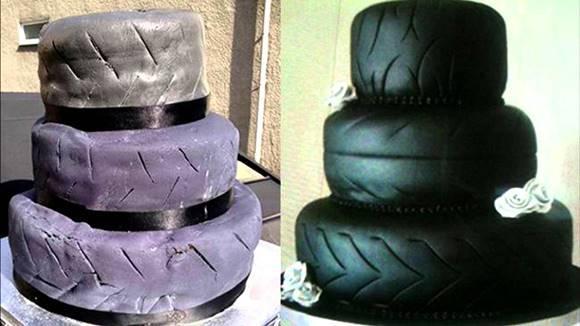 Tem bolos que são bizarros demais para casamentos. (Foto: Reprodução)