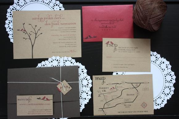 Os convites com detalhes artesanais estão em alta. (Foto Ilustrativa)