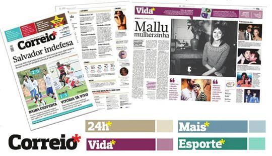 Jornal vai além dos classificados de emprego (Foto: Reprodução/Correio da Bahia)