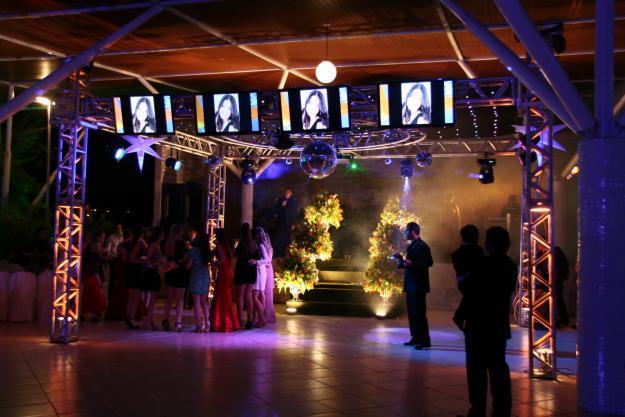 Festa moderna de formatura (Foto: Reprodução/Dubai Formatura)