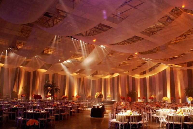 Ambiente da festa (Foto: Reprodução/Dubai Formatura)