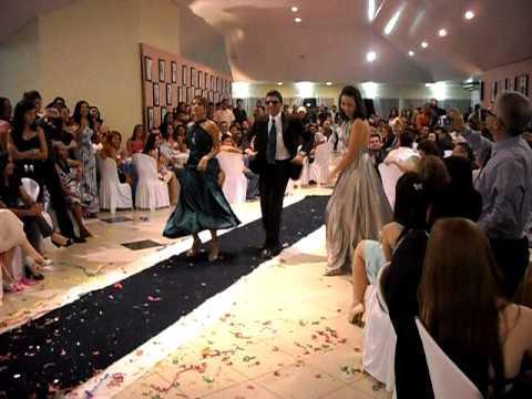 Espaço para todos dançarem (Foto: Reprodução/Dubai Formatura)