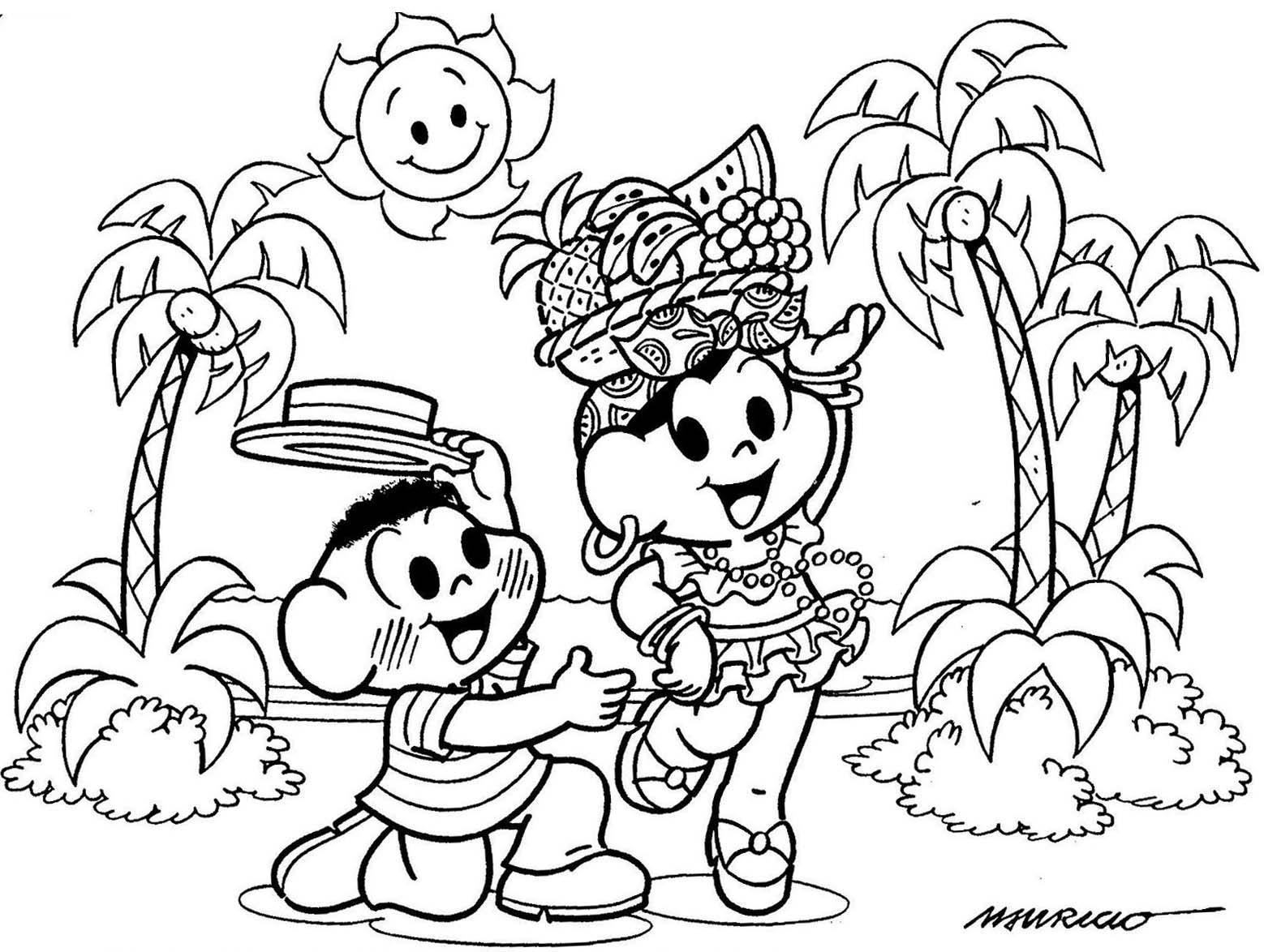 O ato de colorir desenhos ajuda a criança em diversos aspectos (Foto: Divulgação)