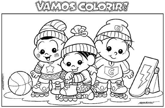 Desenhos de personagens para colorir (Foto: Divulgação)
