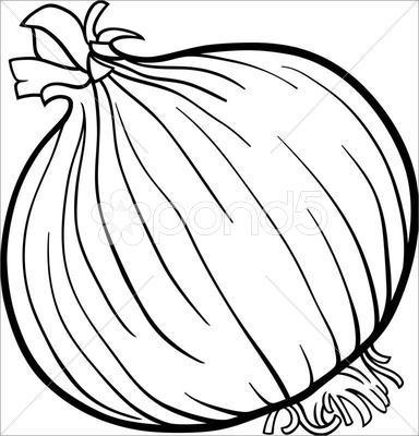 Alimentos em desenho para colorir (Foto: Divulgação)