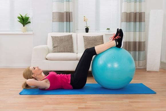 Também é possível realizar um treino em casa. (Foto Ilustrativa)
