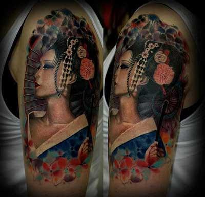 Tatuagem japonesa é uma das mais lindas (Foto: Divulgação)