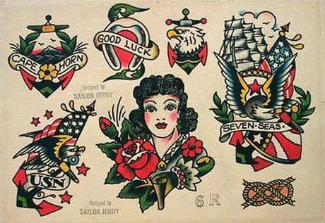 As tatuagens com esse perfil são bem coloridas (Foto: Ilustração)