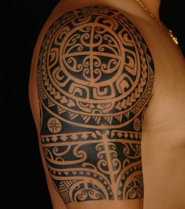 Tatuagens Maoir são as mais comuns (Foto: Divulgação)