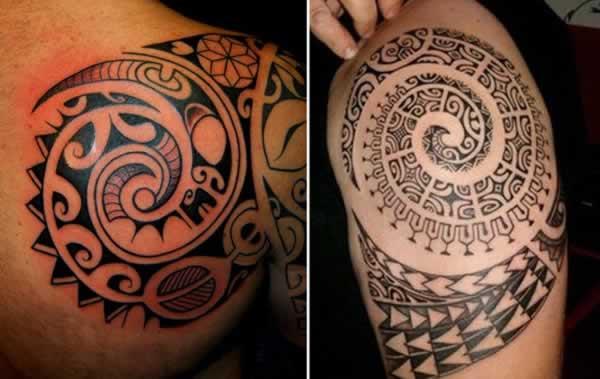 Mais desenhos de tatuagens Maori (Foto: Divulgação)