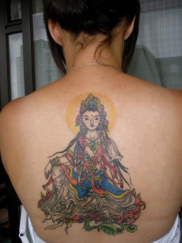 Modelo de tatuagem oriental (Foto: Divulgação)