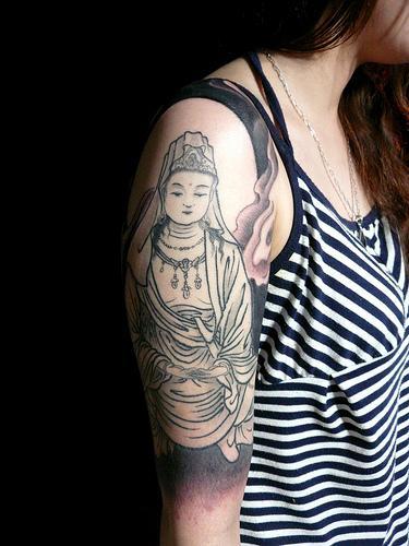 Foto de tatuagem oriental diferenciada (Foto: Divulgação)