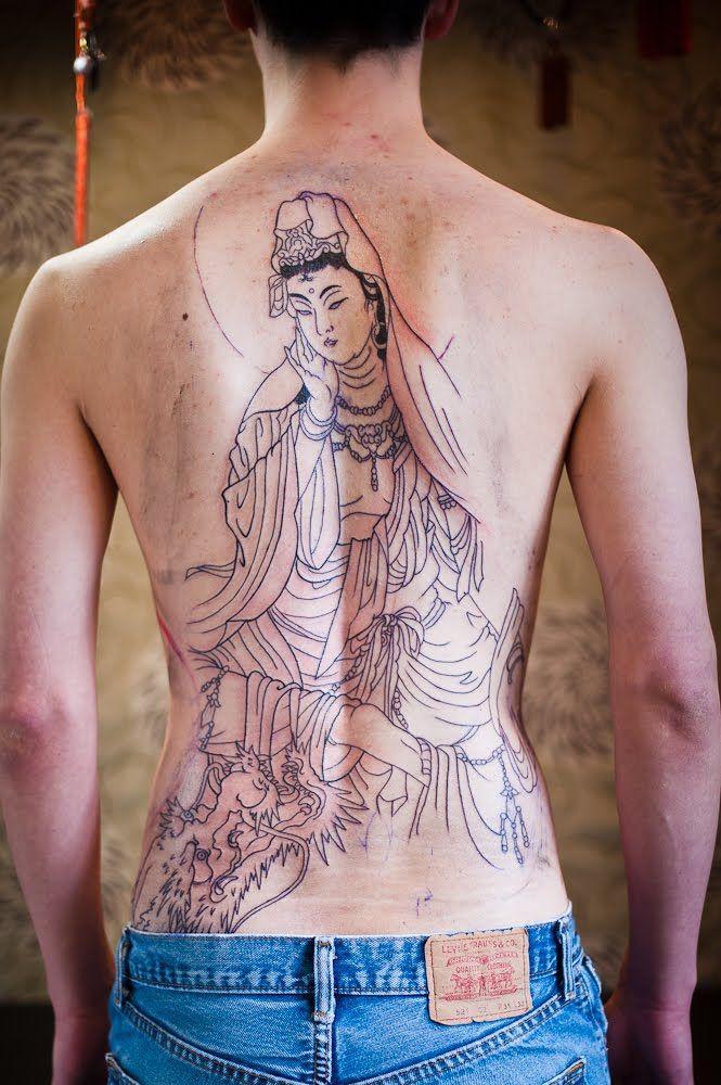 Conheça mais esse estilo de tatuagem oriental (Foto: Divulgação)