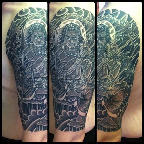 Modelo diferenciado de tatuagem (Foto: Divulgação)_