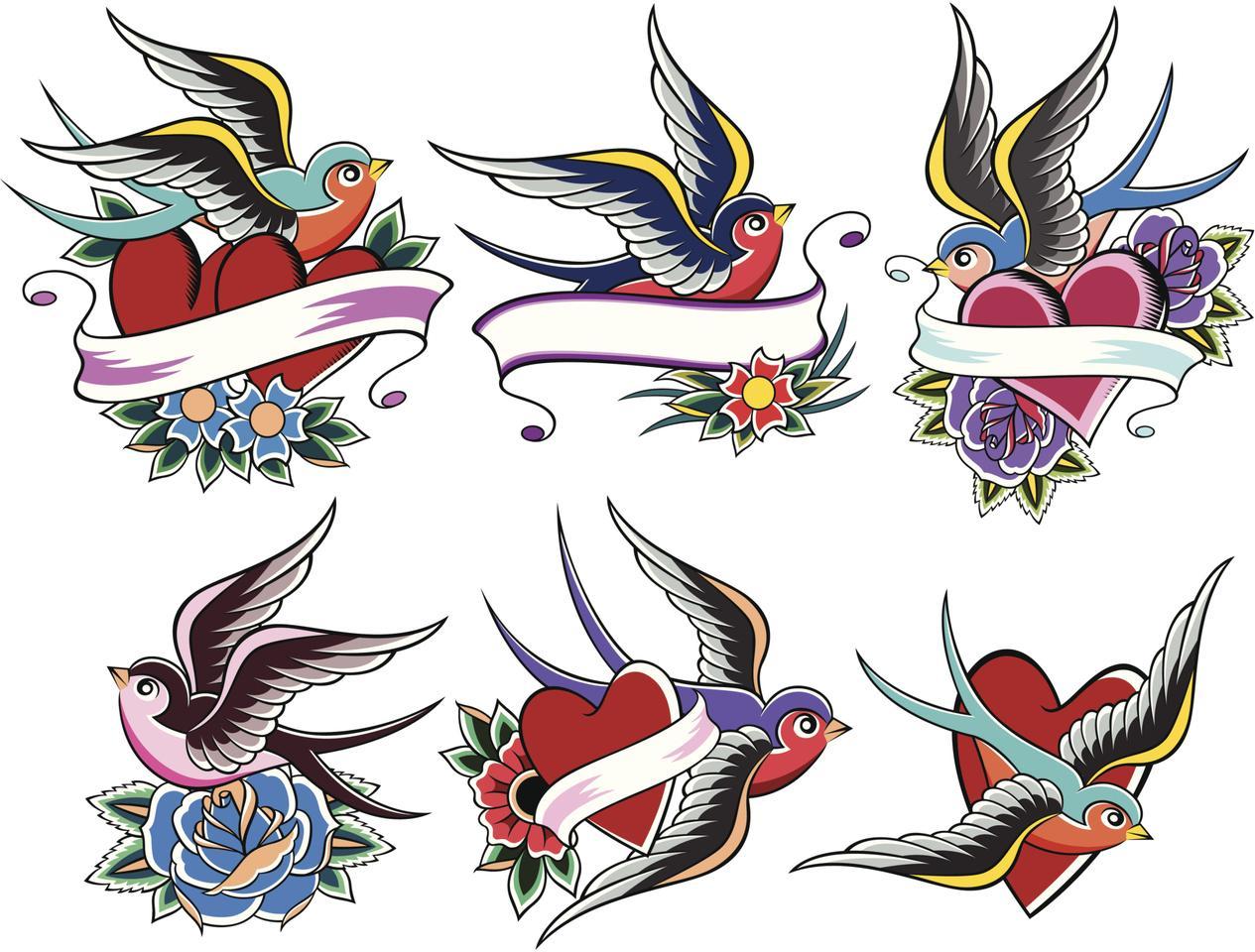 Essas tatuagens são bem comuns e diferenciadas (Foto: Divulgação)