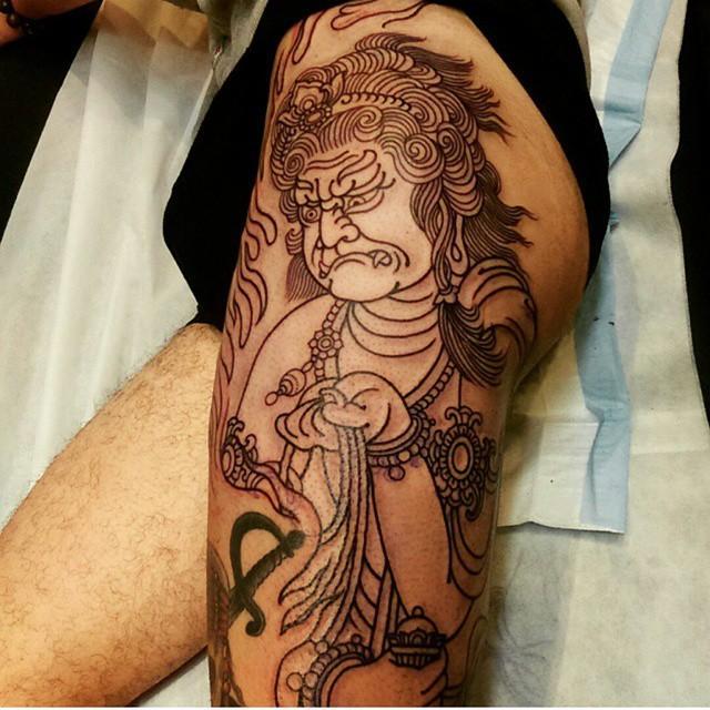 mais modelos de tatuagens orientais bem diferentes (Foto: Ilustração)