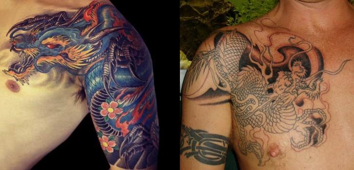 Mais tatuagens de dragão diferenciadas (Foto: Divulgação)