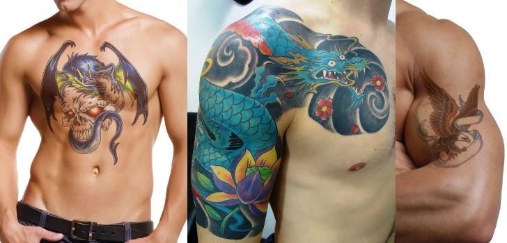 tatuagem de dragão diferente (Foto: Divulgação)