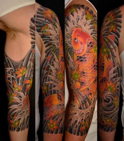Mais tatuagens de carpa (Foto: Divulgação)
