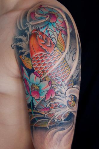 Veja mais informações sobre tatuagens de carpa (Foto: Divulgação)