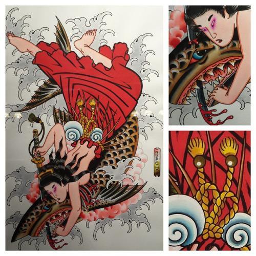 Desenho de tatuagens (Foto: Divulgação)