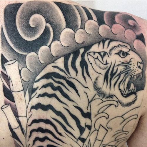 A tatuagem de tigre vai muito bem em qualquer pessoa (Foto: Divulgação)