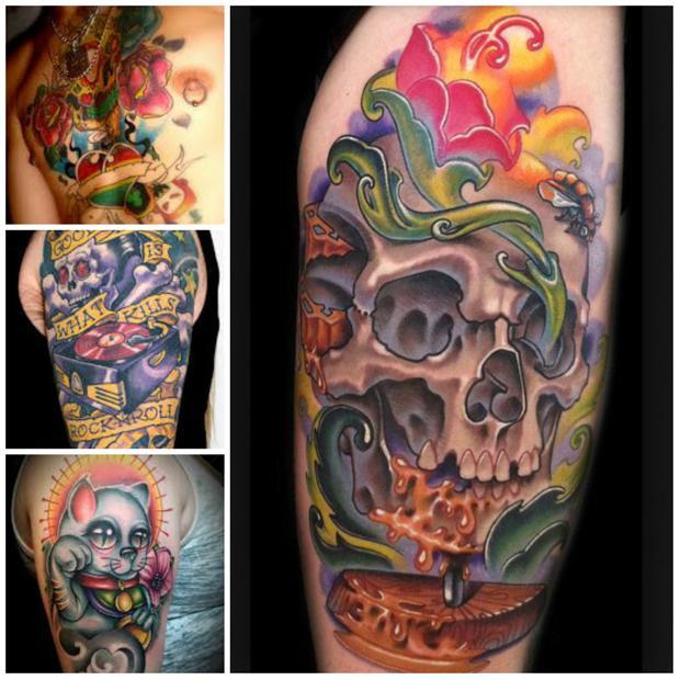 Tatuagens com diferenciais que parecem ter 3D (Foto: Divulgação)