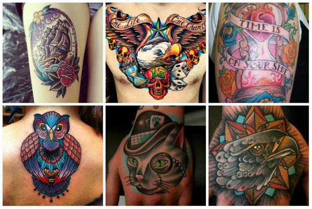 Tatuagem lindas, colorida e que agrada muito homens e mulheres (Foto: Divulgação)