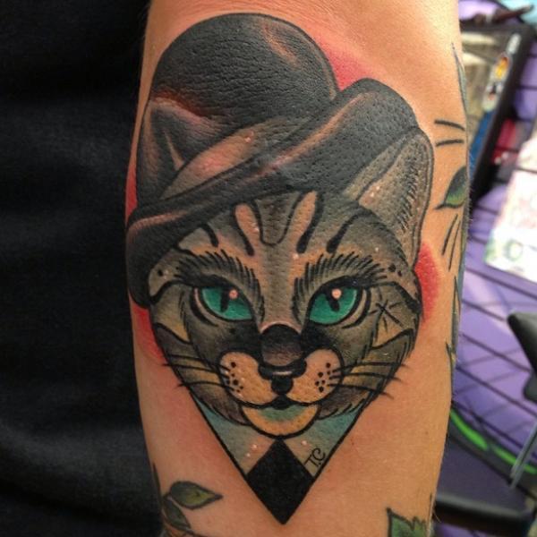 Tatuagem com coração, gatinhos e muitos diferenciais (Foto: Divulgação)