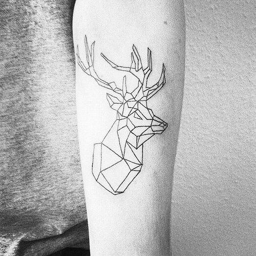 Tatuagens com geometria linda (Foto: Divulgação)