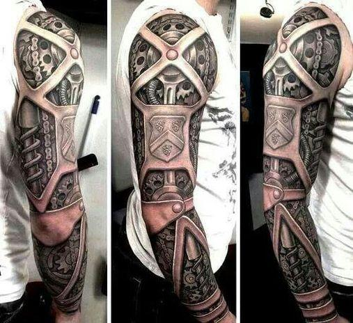 Tatuagens cinzas são as mais comuns (Foto: Divulgação)