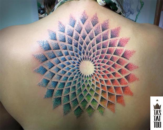 Tatuagens que formar desenhos por pontinhos (Foto: Ilustração)