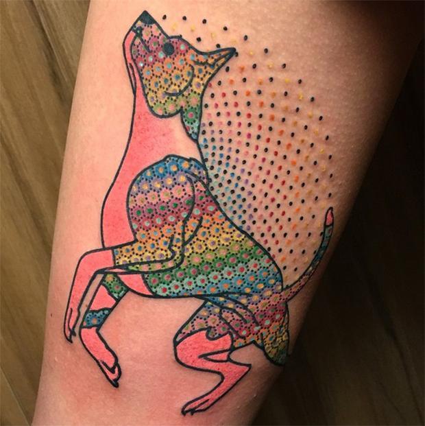 Modelos de tatuagens com pontinhos (Foto: Divulgação)