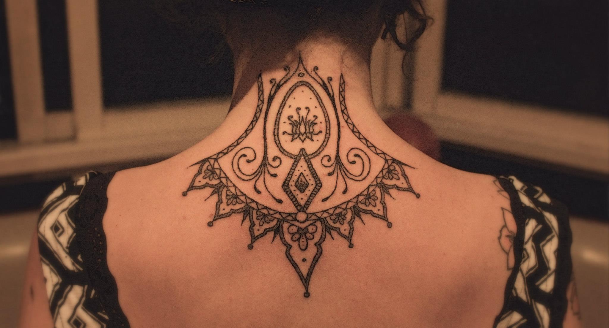 Mais um modelo de tatuagem com pontos (Foto: Divulgação)