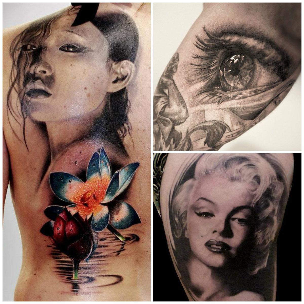 Tatuagem que demonstra muita realidade (Foto: Divulgação)