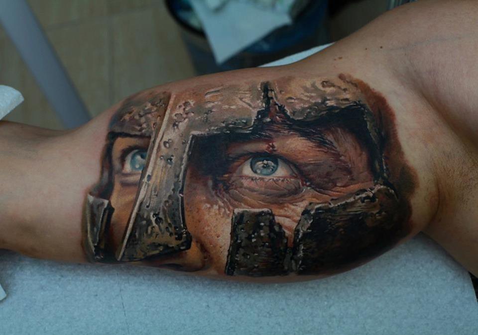 mais uma tatuagem bem realista (Foto: Divulgação)