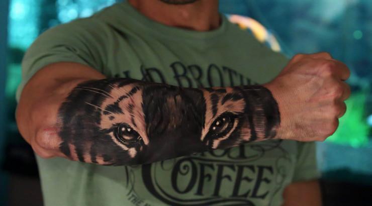 Algumas tatuagens mais parecem mais uma fotografia (Foto: Divulgação)