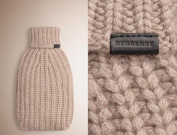 Capa para garrafa térmica, Burberry. (Foto: Reprodução/ Burberry)