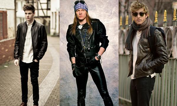 Jaquetas de couro modelos diferentes (Foto: Reprodução/Macho Moda)