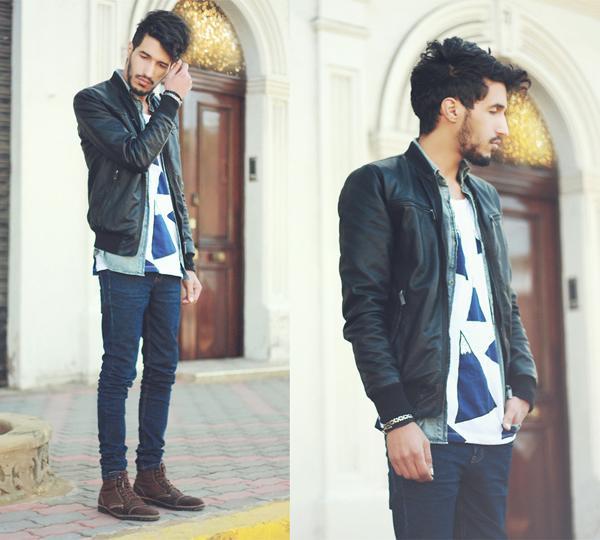Modelos de jaquetas de couro mais moderna (Foto: Reprodução/Macho Moda)